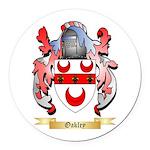 Oakley Round Car Magnet