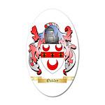 Oakley 35x21 Oval Wall Decal