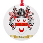 Oakey Round Ornament