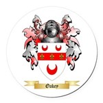 Oakey Round Car Magnet