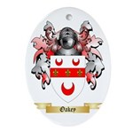 Oakey Oval Ornament