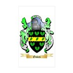 Oakes Sticker (Rectangle 50 pk)