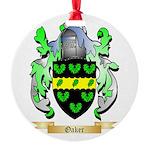 Oaker Round Ornament