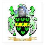 Oaker Square Car Magnet 3