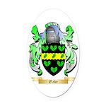 Oake Oval Car Magnet