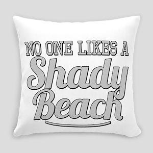Shady Beach Everyday Pillow