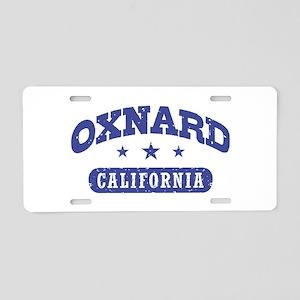 Oxnard CA Aluminum License Plate