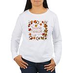 Dogsledding Season Women's Long Sleeve T-Shirt