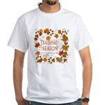 Dogsledding Season White T-Shirt