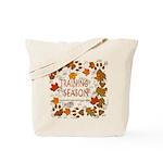 Dogsledding Season Tote Bag