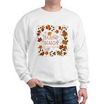 Dogsledding Season Sweatshirt