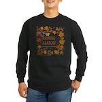 Dogsledding Season Long Sleeve Dark T-Shirt