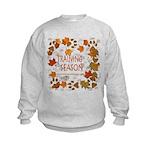 Dogsledding Season Kids Sweatshirt
