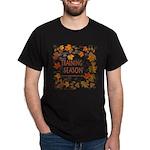 Dogsledding Season Dark T-Shirt