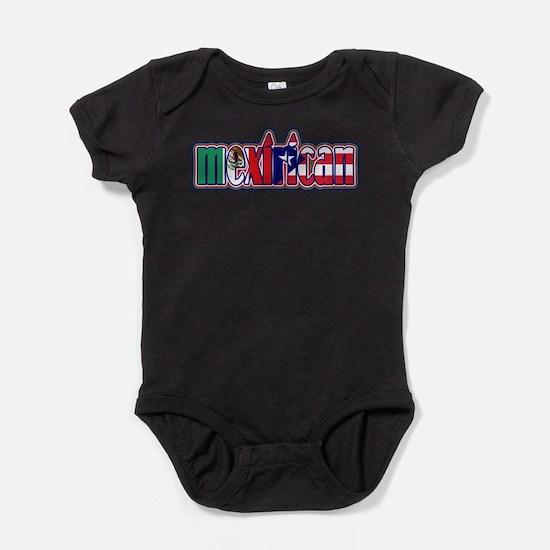 Funny Puerto rican Baby Bodysuit