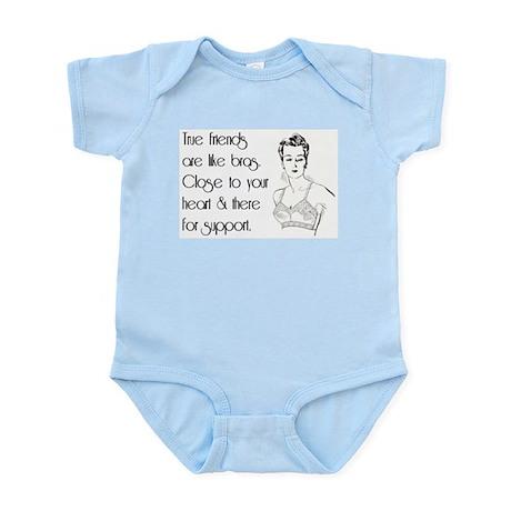 TRUE FRIENDS Infant Bodysuit