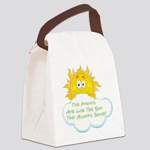 TRUE FRIENDS Canvas Lunch Bag