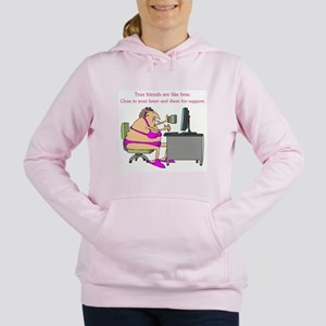 TRUE FRIENDS Women's Hooded Sweatshirt