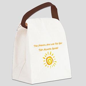 TRUE FRIENDS Canvas Lunch Bag