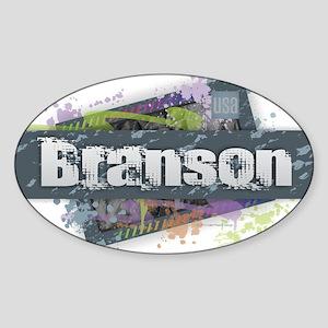 Branson Design Sticker