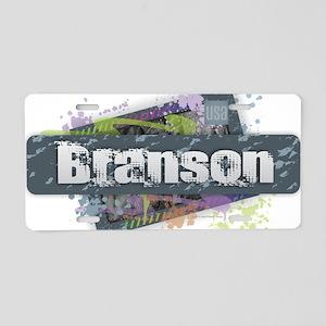 Branson Design Aluminum License Plate