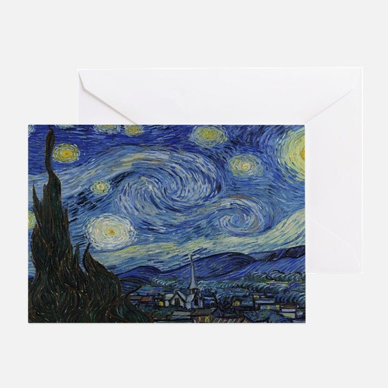 Unique Vincent van gogh Greeting Card