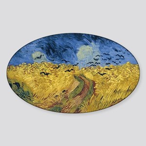 Vincent van Gogh - Wheatfield with Crows Sticker