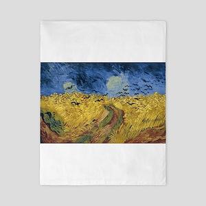 Vincent van Gogh - Wheatfield with Crow Twin Duvet