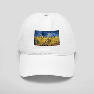 Vincent van Gogh - Wheatfield with Crows Cap