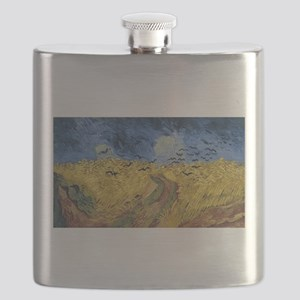 Vincent van Gogh - Wheatfield with Crows Flask