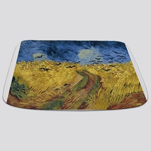 Vincent van Gogh - Wheatfield with Crows Bathmat