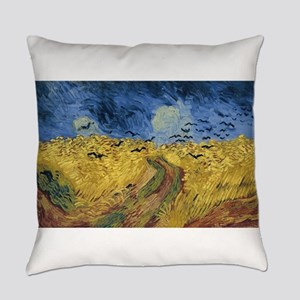 Vincent van Gogh - Wheatfield with Everyday Pillow