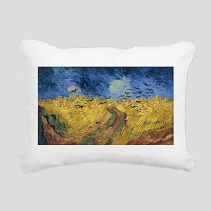 Vincent van Gogh - Wheat Rectangular Canvas Pillow