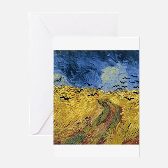 Vincent van Gogh - Wheatfield with Greeting Cards