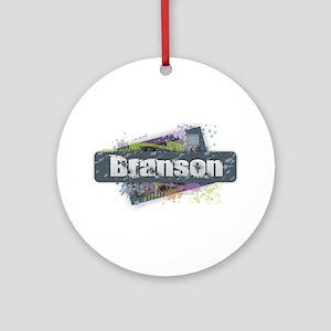 Branson Design Round Ornament