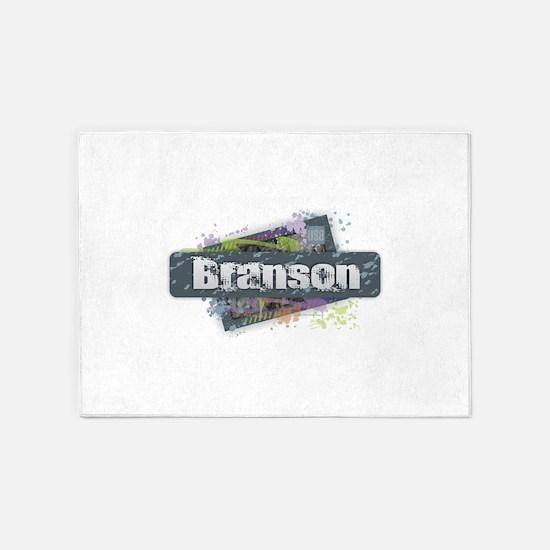Branson Design 5'x7'Area Rug