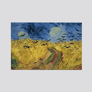 Vincent van Gogh - Wheatfield with Crows Magnets