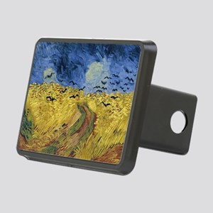 Vincent van Gogh - Wheatfi Rectangular Hitch Cover
