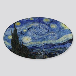 Vincent van Gogh's Starry Night Sticker