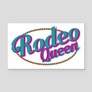 Rodeo Queen Rectangle Car Magnet
