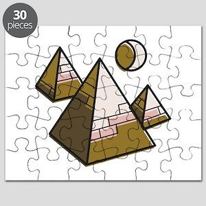 Egypt Pyramids Puzzle