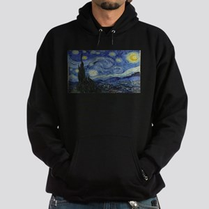 Vincent van Gogh's Starry Night Hoodie (dark)