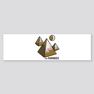 The Pyramids Bumper Sticker