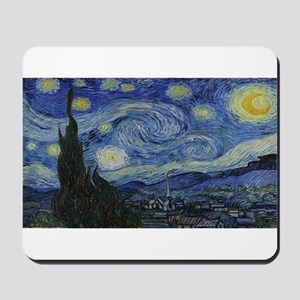 Vincent van Gogh's Starry Night Mousepad