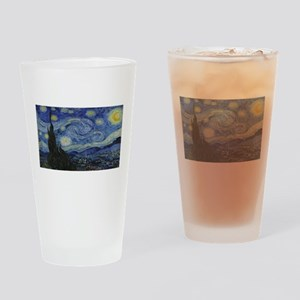 Vincent van Gogh's Starry Night Drinking Glass