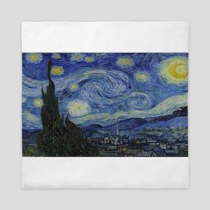 Vincent van Gogh's Starry Night Queen Duvet