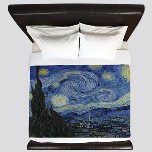 Vincent van Gogh's Starry Night King Duvet