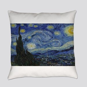 Vincent van Gogh's Starry Night Everyday Pillow