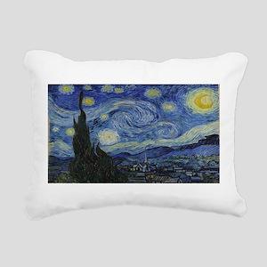 Vincent van Gogh's Starr Rectangular Canvas Pillow