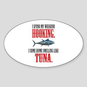 I spend my weekend hooking. Sticker